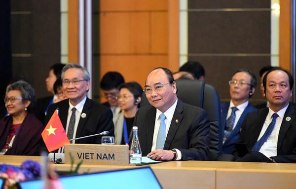 Thủ tướng Nguyễn Xuân Phúc tại Hội nghị Cấp cao ASEAN-Hoa Kỳ lần thứ 5.