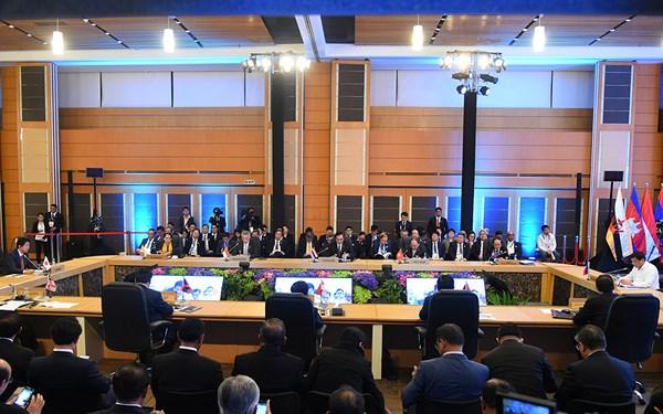 Toàn cảnh Hội nghị Cấp cao ASEAN-Nhật Bản lần thứ 20.