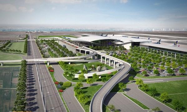 Phối cảnh Dự án sân bay - nhà ga hàng không quốc tế Long Thành