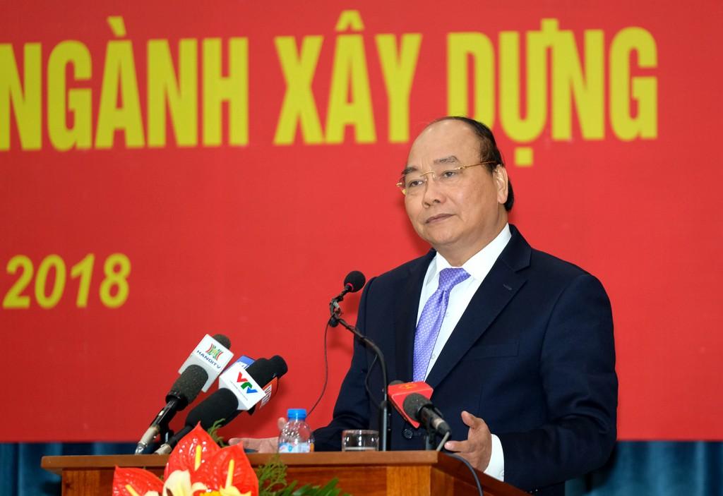 Thủ tướng Nguyễn Xuân Phúc phát biểu chỉ đạo tại Hội nghị. Ảnh: VGP/Quang Hiếu