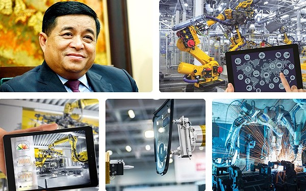 """Bộ trưởng Nguyễn Chí Dũng cho rằng, thời cơ từ cuộc cách mạng công nghiệp 4.0 là """"nghìn năm có một"""""""