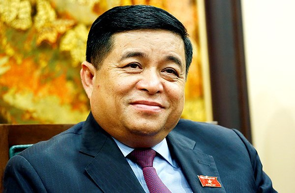 Bộ trưởng Bộ Kế hoạch và Đầu tư Nguyễn Chí Dũng