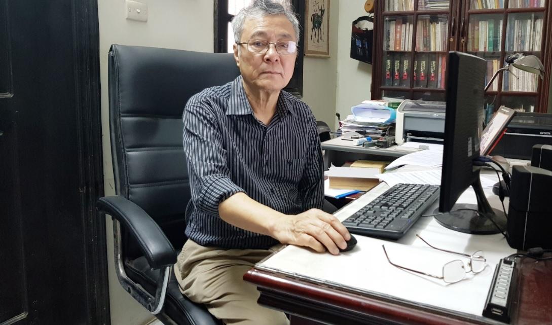 Nhạc sĩ, nhà nghiên cứu Đặng Hoành Loan. Ảnh: VGP/Thu Lê
