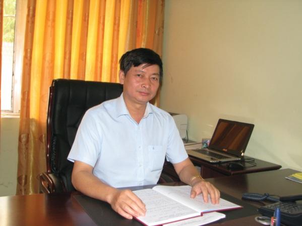 Ông Bế Văn Hùng.