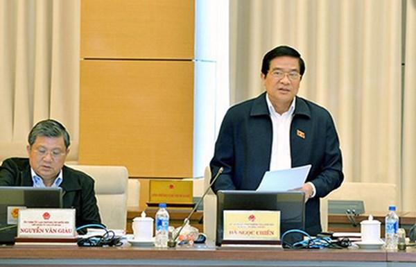 ng Hà Ngọc Chiến – Chủ tịch Hội đồng Dân tộc đề nghị xác minh tài sản khi phong tăng quân hàm cấp tướng