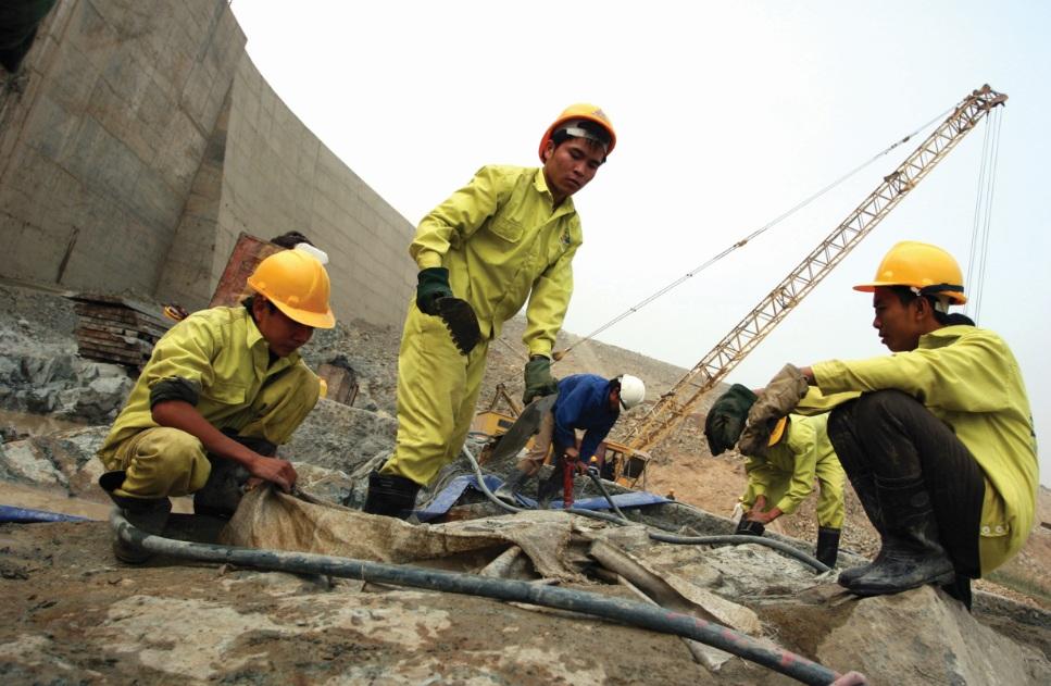 Xây dựng là lĩnh vực thường xuyên xảy ra TNLĐ.