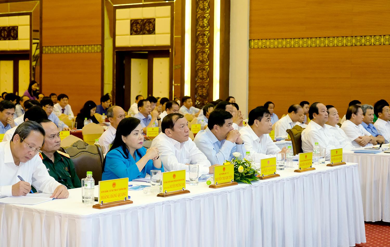 Các đại biểu dự hội nghị. Ảnh: VGP/Quang Hiếu