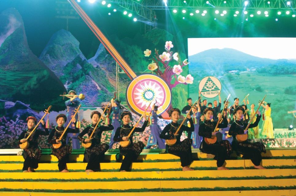 Chương trình nghệ thuật Liên hoan nghệ thuật hát Then-đàn Tính các dân tộc Tày, Nùng, Thái toàn quốc lần thứ VI.