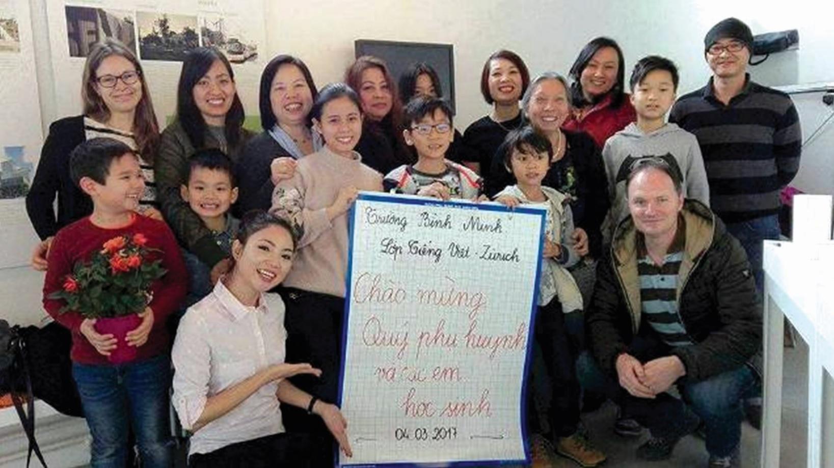 Khai giảng lớp tiếng Việt tại Zurich-Thụy Sĩ.