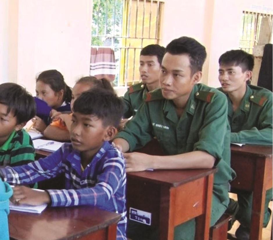lớp học Khmer