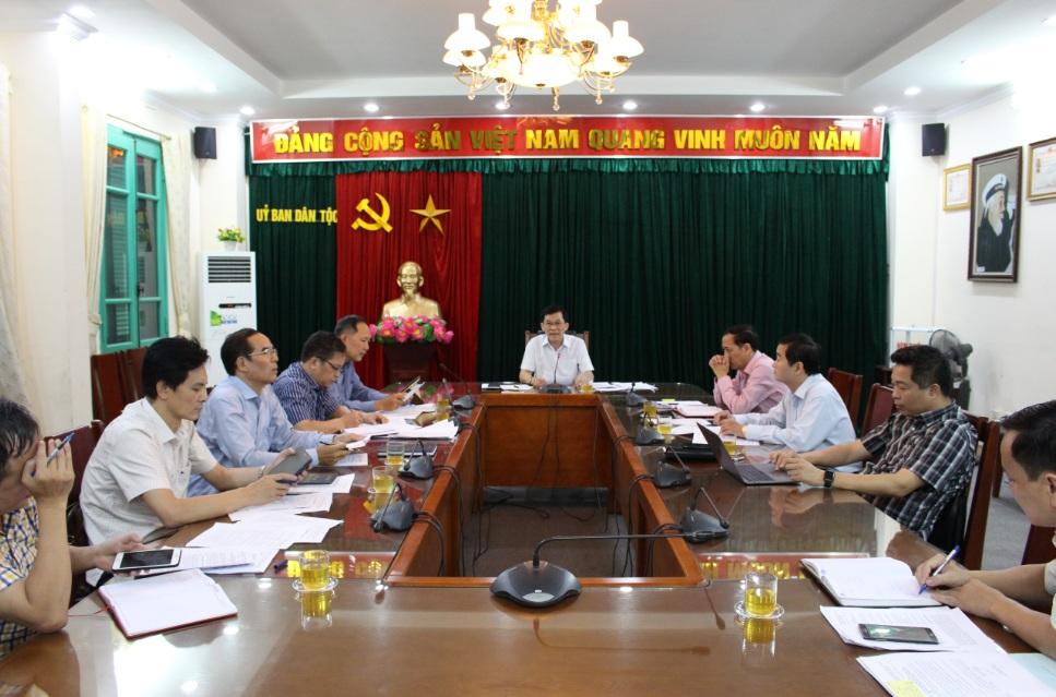 Ủy ban Dân tộc: Nâng cao hiệu quả  hoạt động của Ban Chỉ đạo thực hiện Quy chế dân chủ
