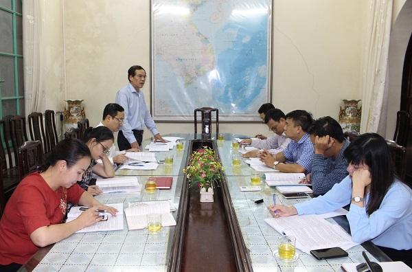 Ông Lý Anh Tuấn, Vụ trưởng Vụ Pháp chế, Chủ tịch Hội đồng chủ trì phiên họp