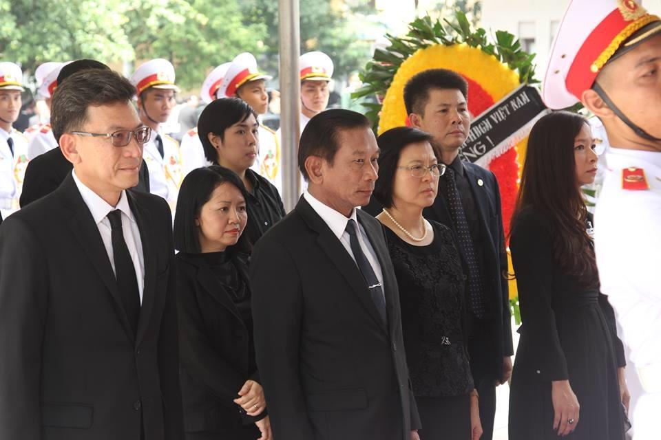 Đoàn Thái Lan vào viếng Chủ tịch nước. Ảnh: Báo Lao động