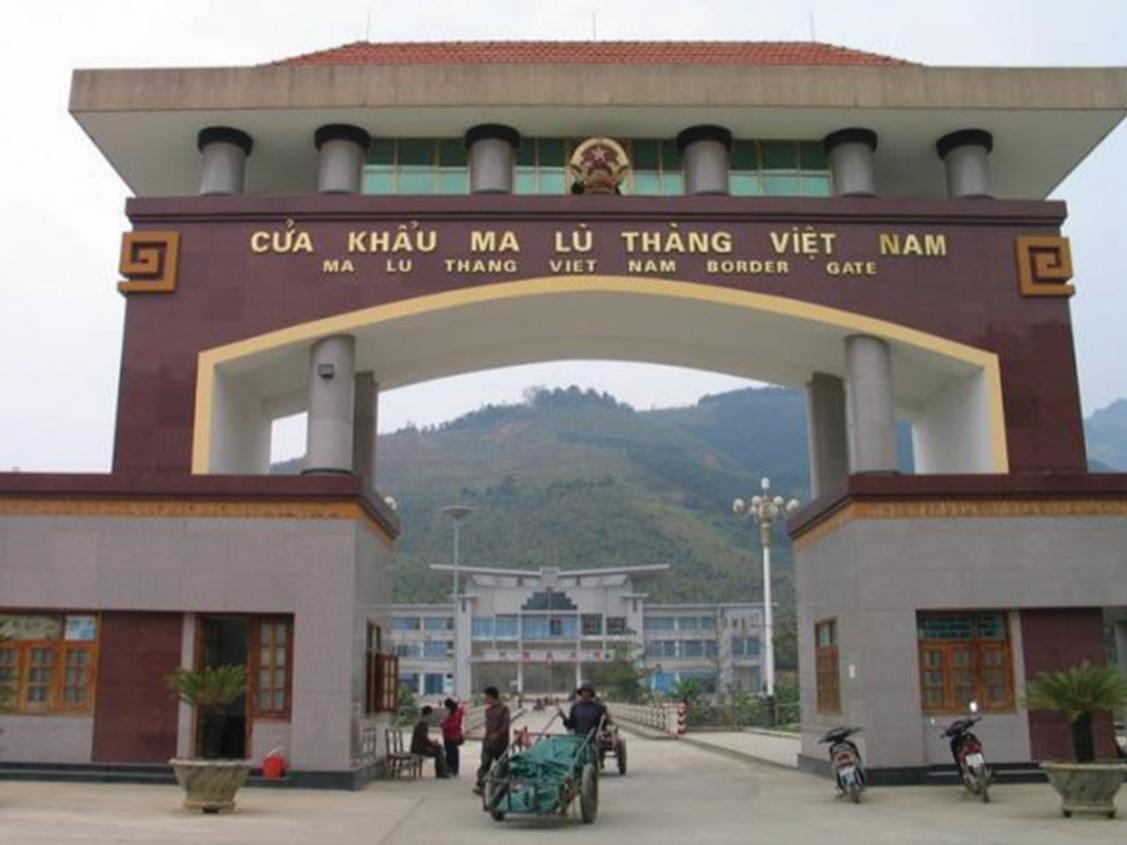 Cửa khẩu Ma Lù Thàng (tỉnh Lai Châu).