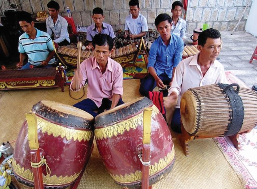 Nhạc ngũ âm truyền thống là một loại hình nghệ thuật độc đáo của đồng bào Khmer.