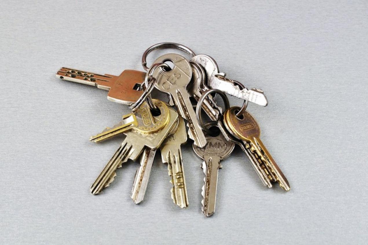 Người dân cần cảnh giác khi cho mượn chùm chìa khóa.
