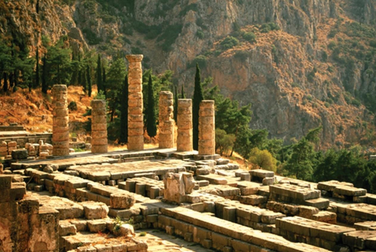 Di chỉ khảo cổ Delphi.