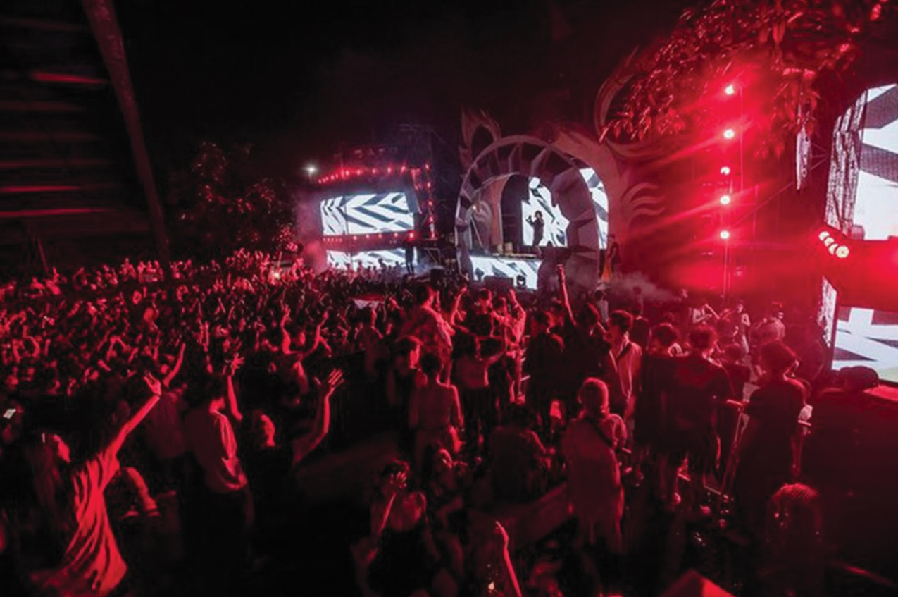 Lễ hội âm nhạc Trip to the moon.