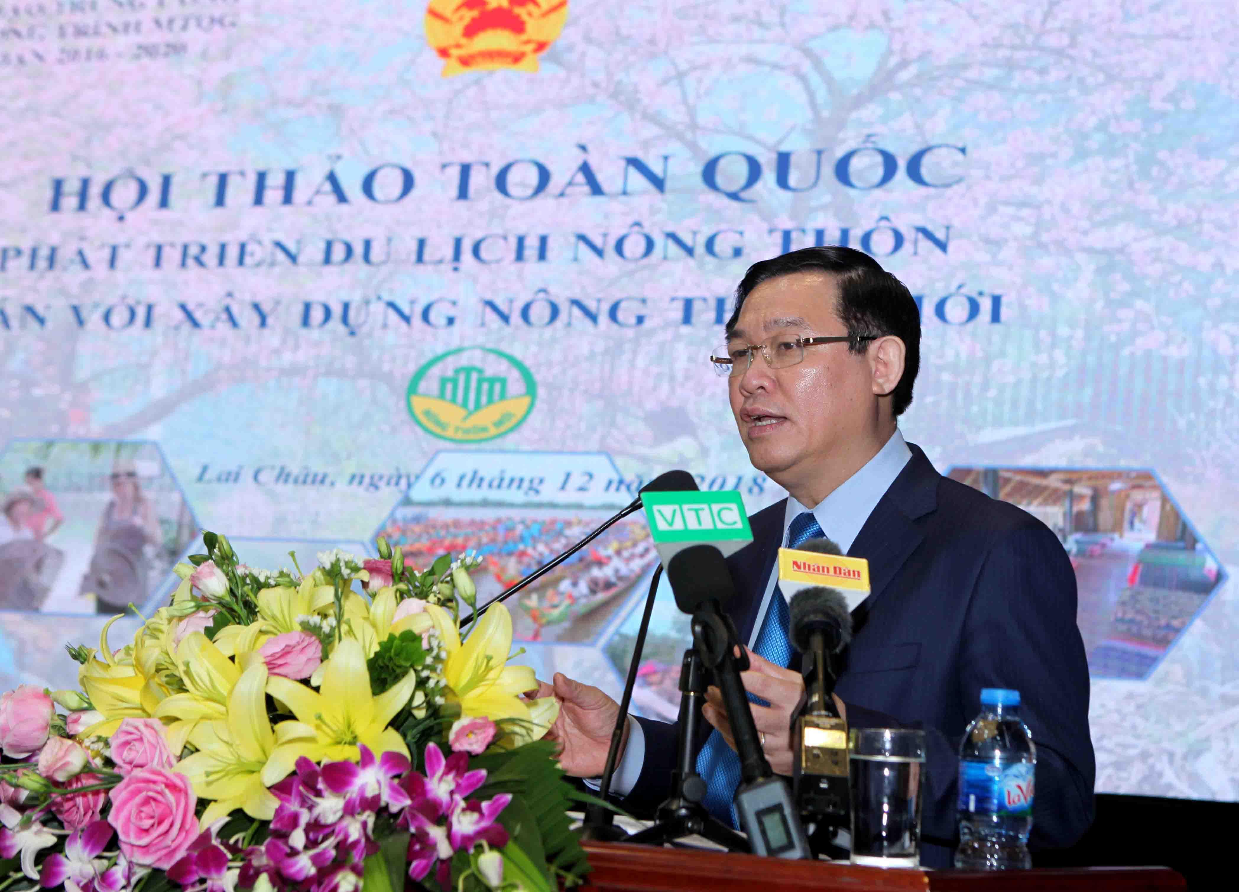 Phó Thủ tướng Vương Đình Huệ phát biểu kết luận Hội thảo