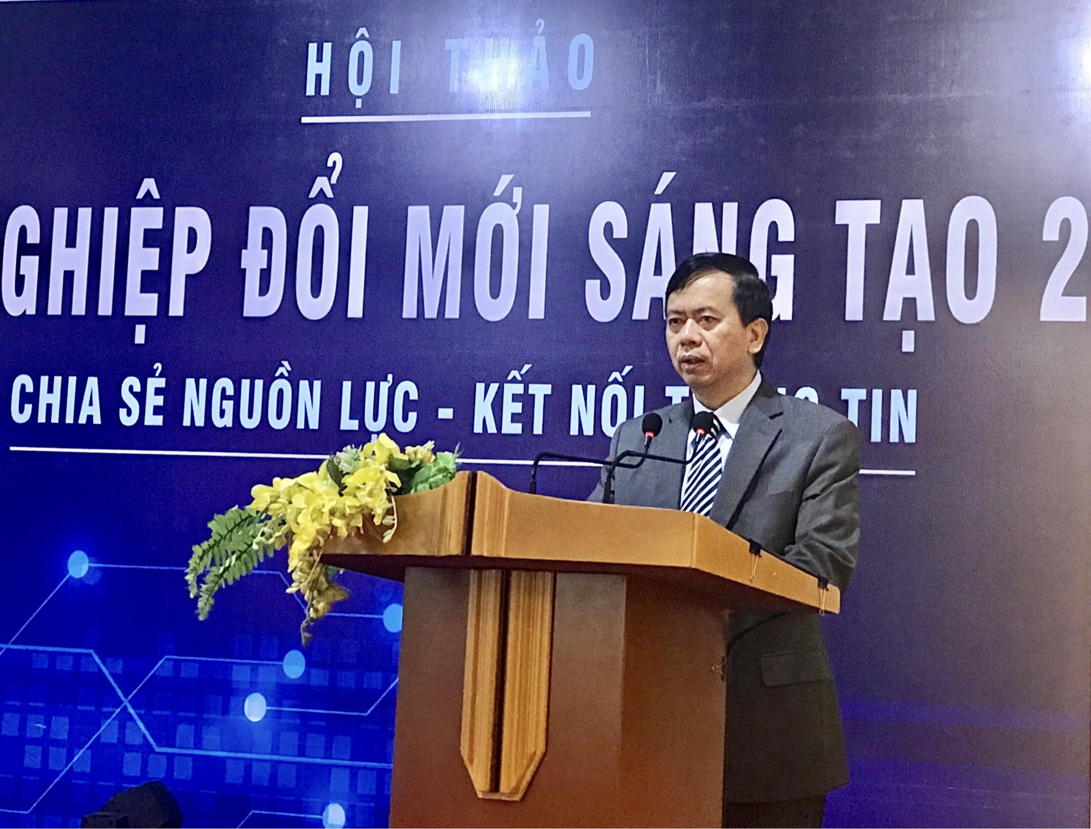 1.Thứ trưởng, Phó Chủ nhiệm Phan Văn Hùng phát biểu tại Hội thảo