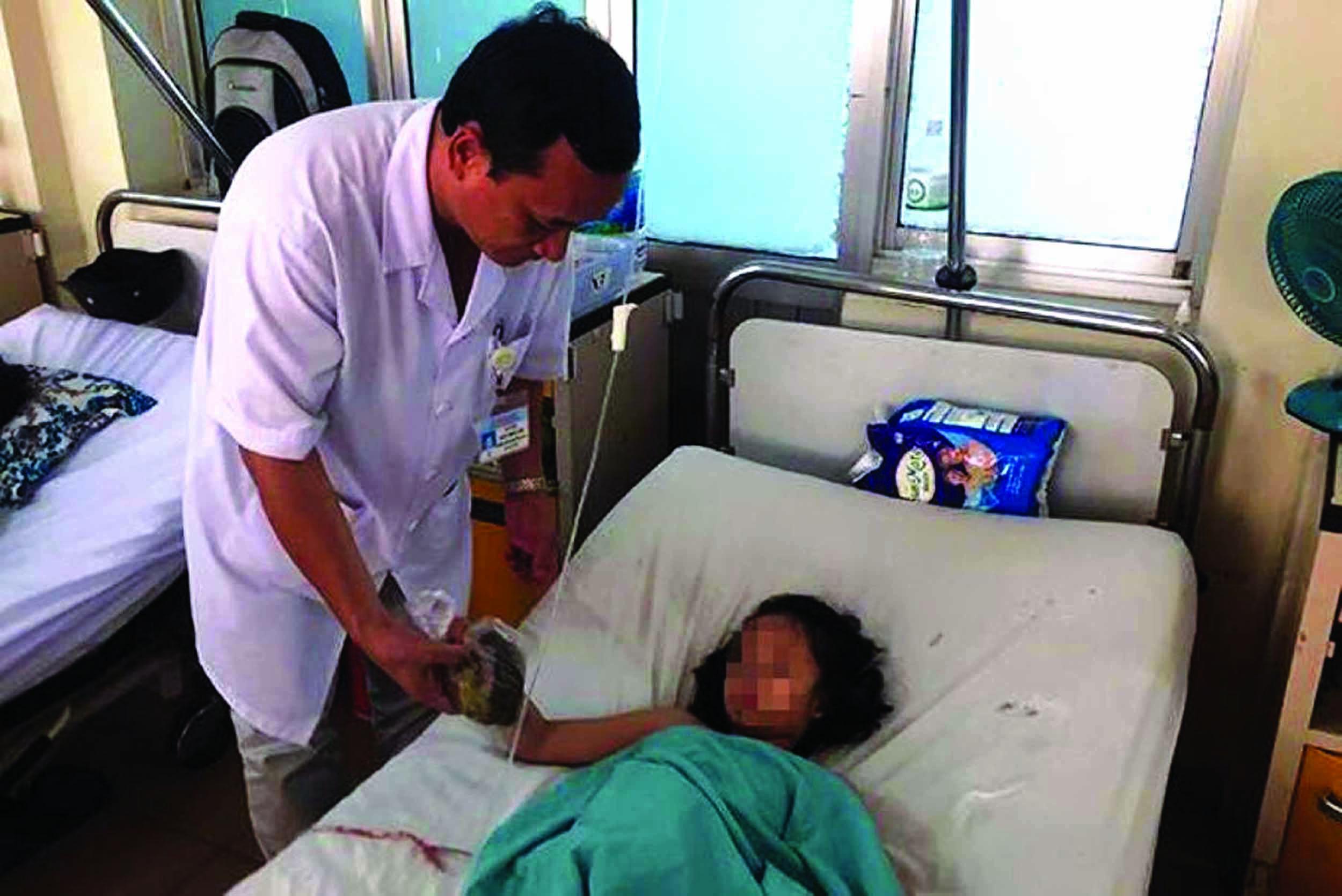 Bệnh nhân Phương A hồi phục tốt sau phẫu thuật.