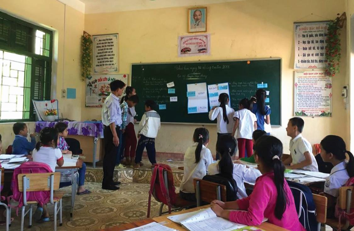 Trẻ thích đến trường hơn nhờ phương pháp dạy tích cực.