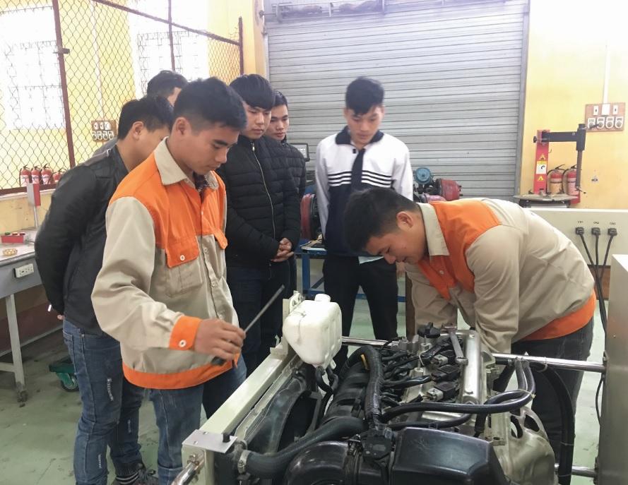 Chất lượng đào tạo nghề trên địa tỉnh Lào Cai thời gian qua đã được nâng lên rõ rệt.