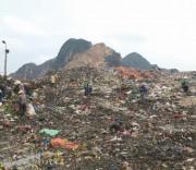 Rác thải ở khu vực miền núi Thanh Hóa