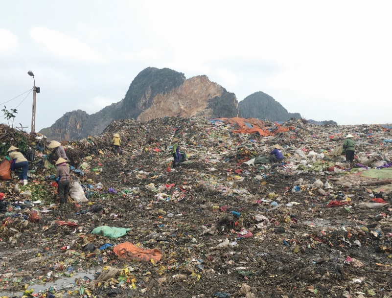 Rác thải ở khu vực miền núi Thanh Hóa: Chưa có giải pháp xử lý hiệu quả