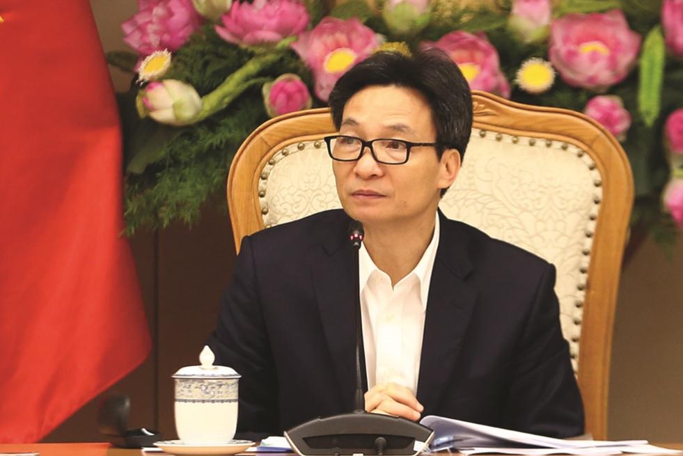 Phó Thủ tướng Vũ Đức Đam chủ trì Phiên họp.