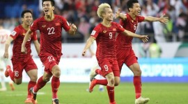 Việt Nam vào tứ kết Asian Cup