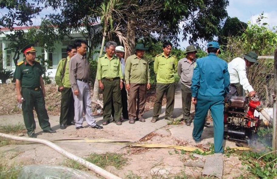 Đoàn Công tác của UBND tỉnh kiểm tra công tác PCCR.