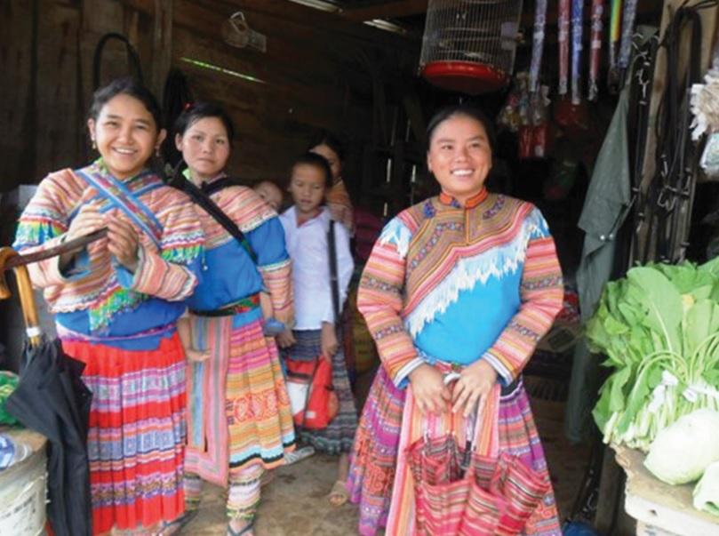 Cộng đồng các dân tộc ở biên giới Nậm Cắn một lòng đoàn kết, sẻ chia.