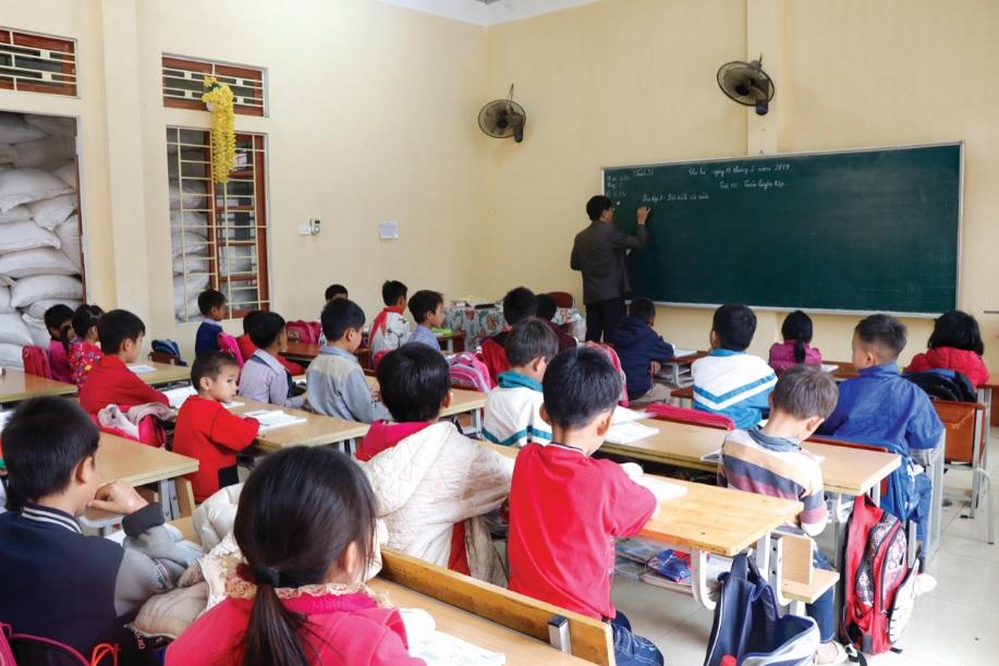 Các lớp học ở vùng cao Yên Bái đã ổn định sỹ số sau kỳ nghỉ Tết.