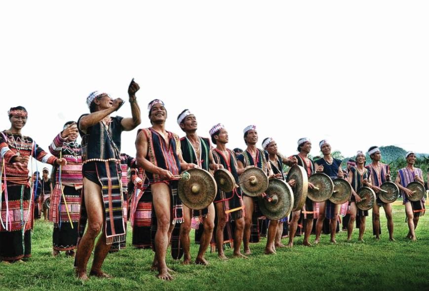 Không gian văn hóa Cồng chiêng Tây Nguyên trải dài trên 5 tỉnh: Kon Tum, Gia Lai, Đăk Lăk, Đăk Nông và Lâm Đồng.