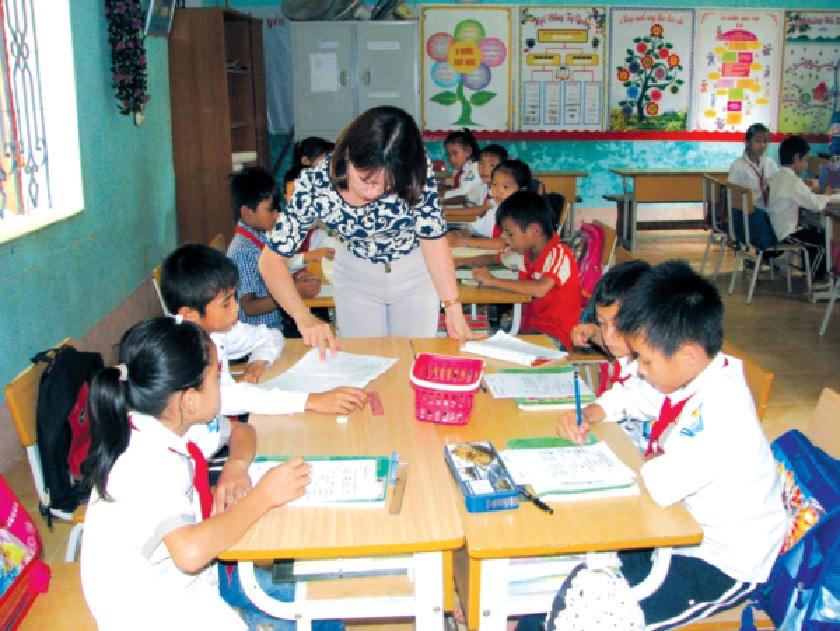 Nhờ hệ thống trường PTDTNT, chất lượng giáo dục ở vùng cao không ngừng được nâng lên.