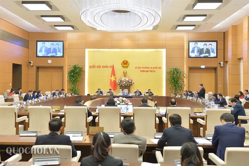 Toàn cảnh Phiên họp thứ 32 của Uỷ ban Thường vụ Quốc hội