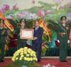 Thủ tướng Chính Phủ Nguyễn Xuân Phúc trao Huân Chương Quân công hạng Nhất  cho lực lượng Bộ đội Biên phòng.