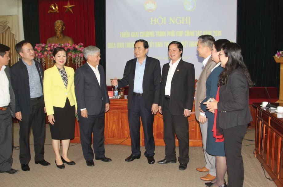 Ủy ban Trung ương Mặt trận Tổ quốc Việt nam – Ủy ban Dân tộc: Tổ chức Hội nghị đánh giá Chương trình phối hợp năm 2018, triển khai Kế hoạch năm 2019