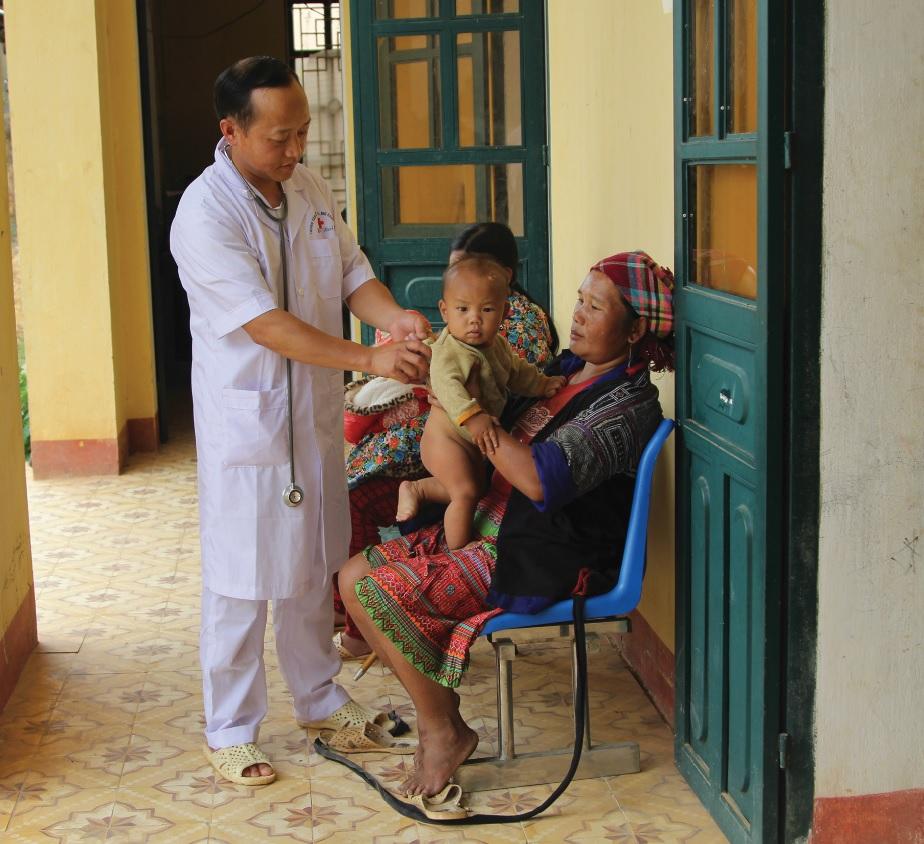 Vùng DTTS tiềm ẩn nguy cơ mắc bệnh sởi do không được tiêm chủng vắc xin.
