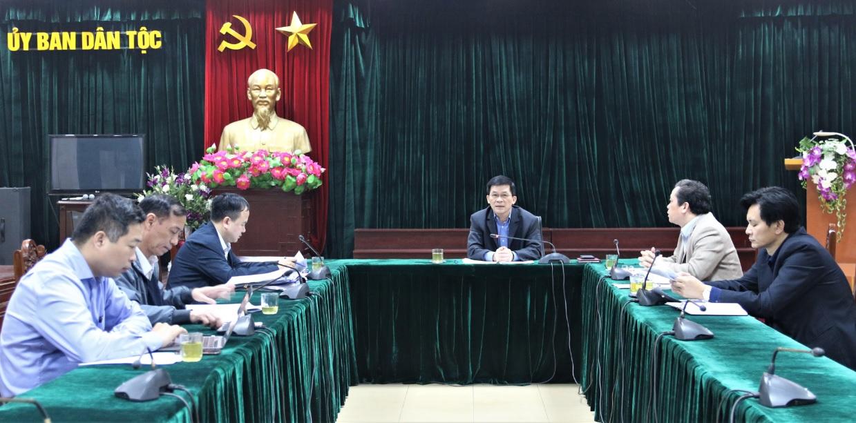 Ủy ban Dân tộc: Tăng cường hiệu quả hoạt động của Ban Chỉ đạo thực hiện Quy chế dân chủ