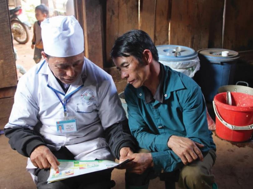 Cán bộ y tế tăng cường công tác tuyên truyền, phòng chống bệnh lao tại vùng DTTS.