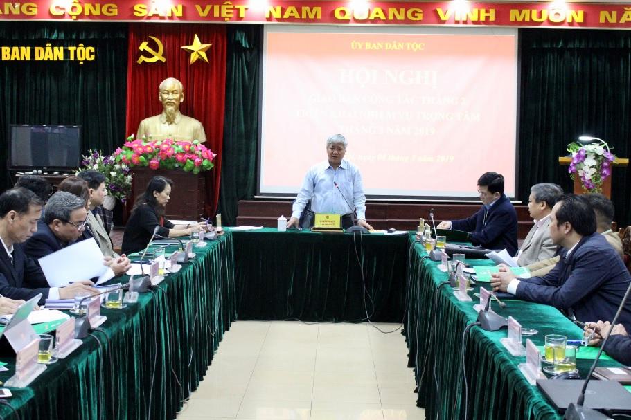 Hội nghị giao ban công tác tháng 2