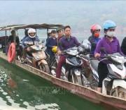 Lòng hồ thủy điện Sơn La