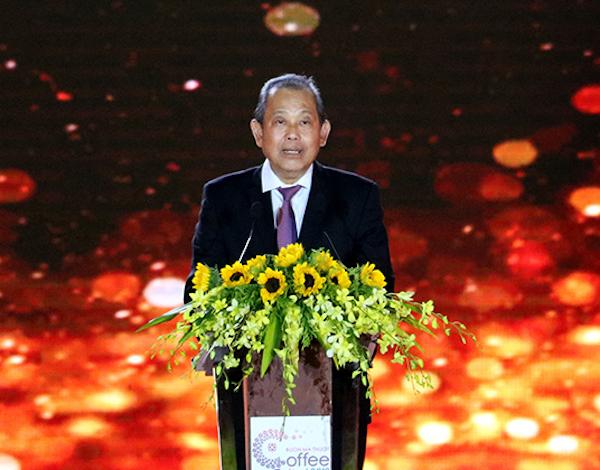 Phó Thủ tướng Thường trực Trương Hoà Bình phát biểu tại lễ Khai mạc