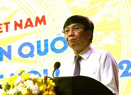 Đồng chí Hồ Quang Lợi, Phó Chủ tịch Thường trực Hội Nhà báo Việt Nam. Ảnh: VGP/Diệp Anh