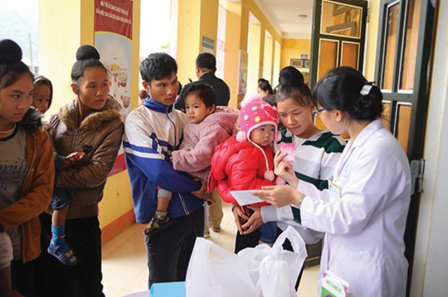 Công tác chăm sóc sức khỏe cho trẻ em ngày càng được tỉnh Yên Bái quan tâm.