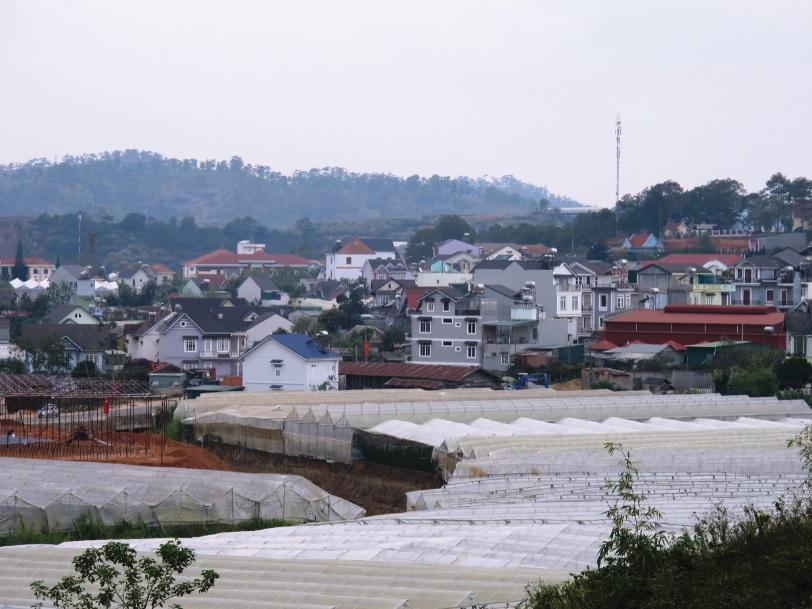 Một góc thị trấn Lạc Dương.