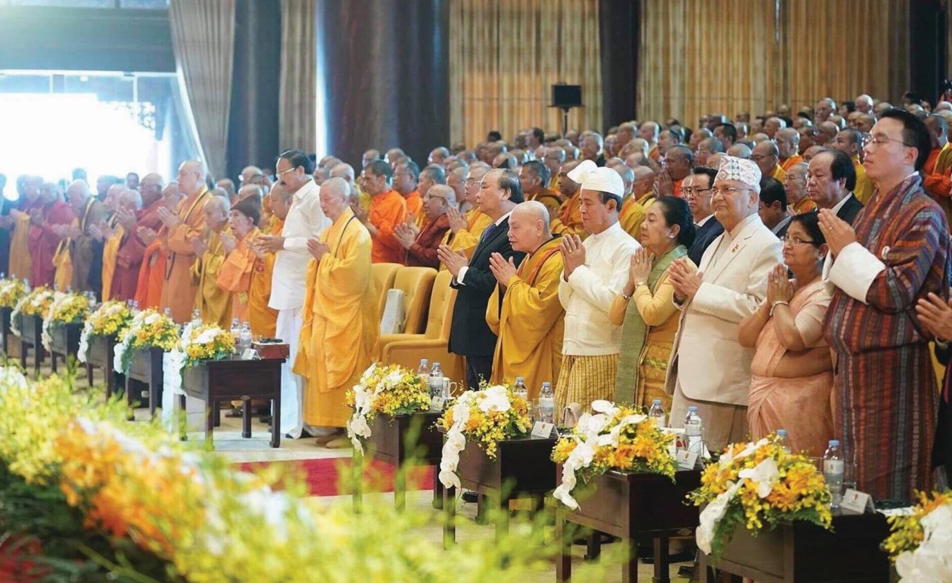 Đại biểu trong nước và quốc tế tham dự Đại lễ Phật đản LHQ-Vesak 2019.