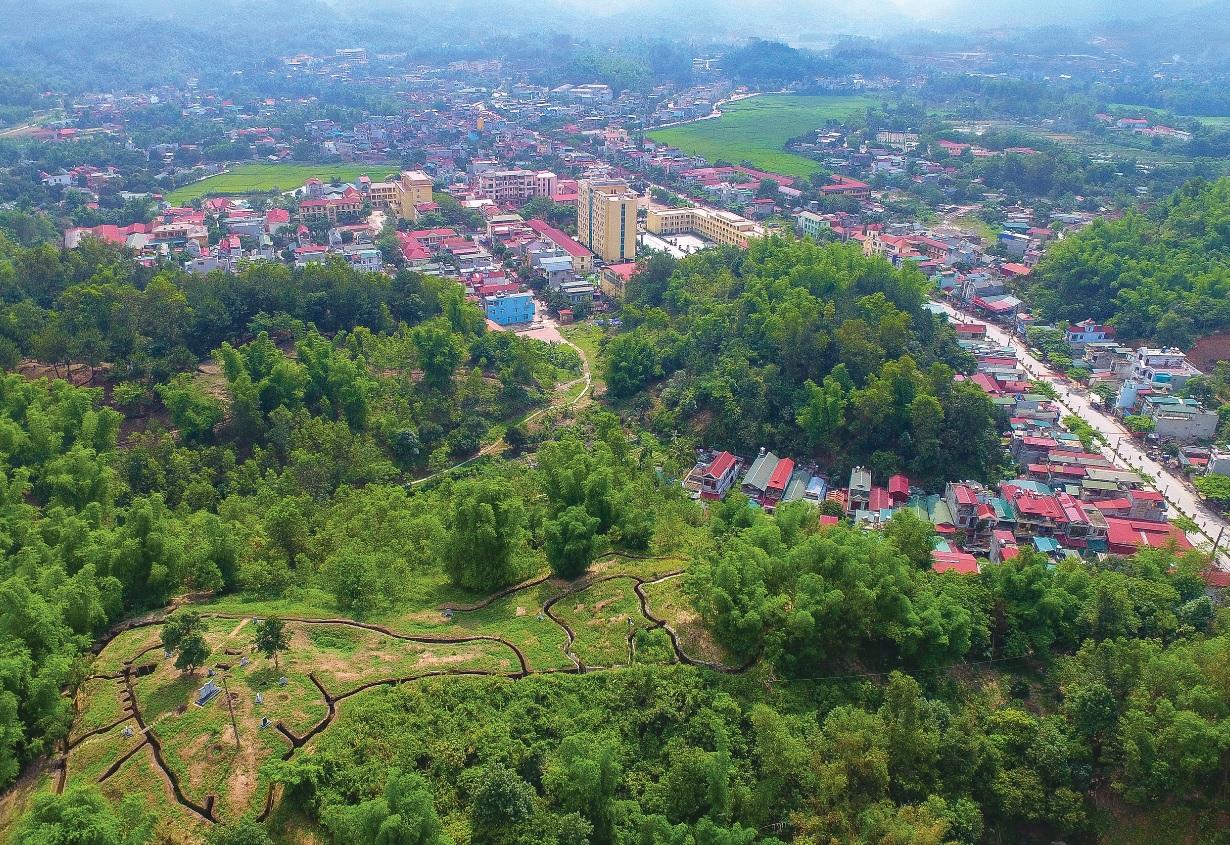 Vùng đất chiến trường Him Lam xưa, nay là phố phường sầm uất.